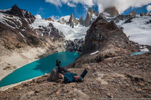 Гора Монте Фицрой (Патагония)
