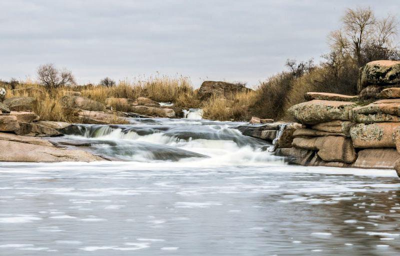 Шелоховский каскадный водопад
