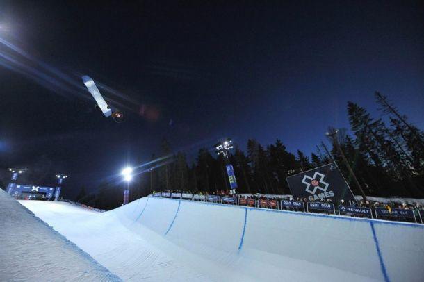 Сноуборд суперпайп1