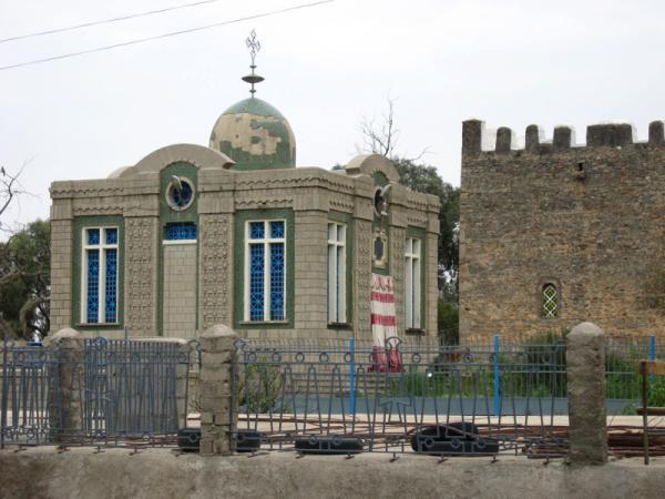 9. Церковь Марии Сионской (Аксум, Эфиопия)