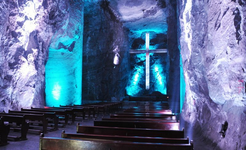 Соляной собор в Колумбии «Salt Cathedral of Zipaquira»