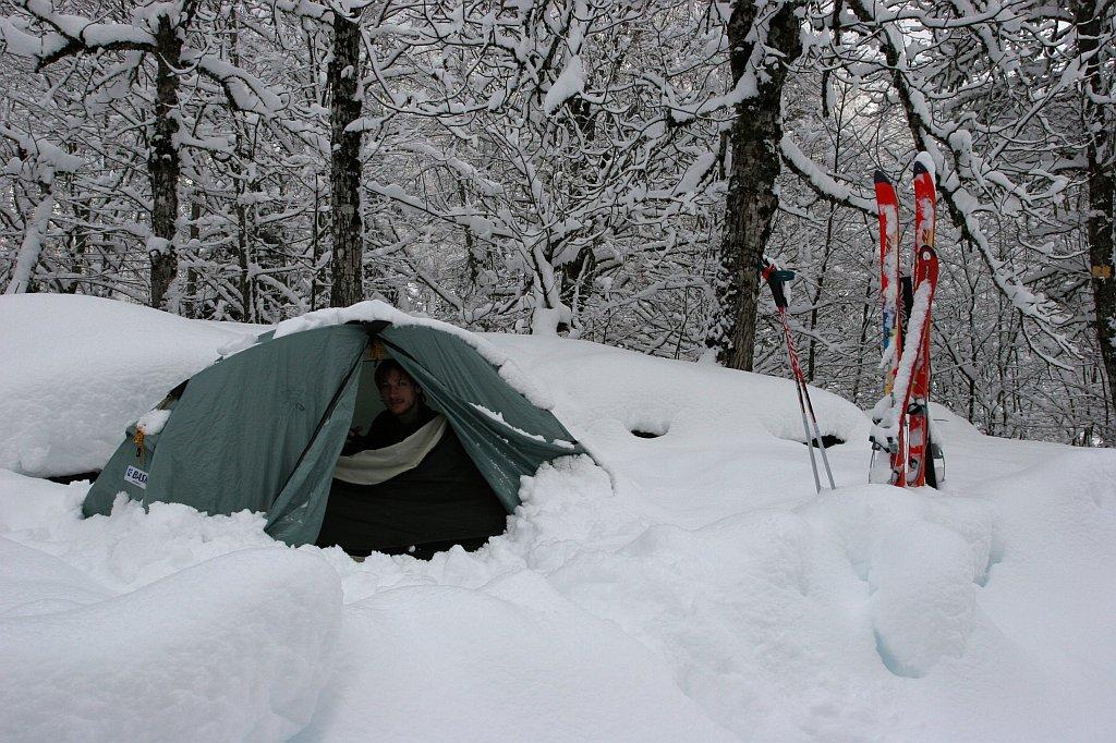 фото 2  поход зимой