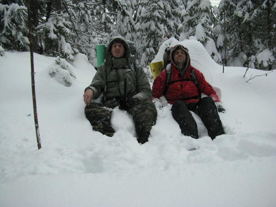 фото 3  поход зимой