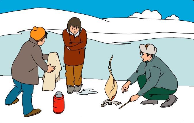 найти источник тепла