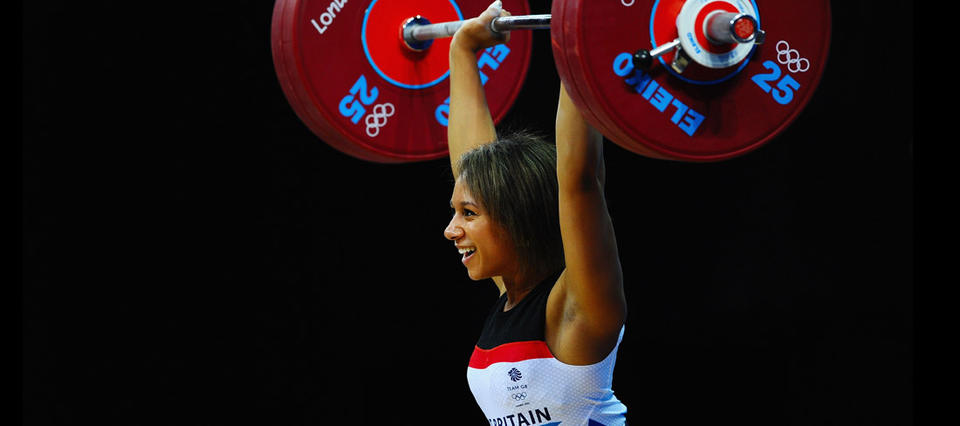 тяжелая атлетика для девушек