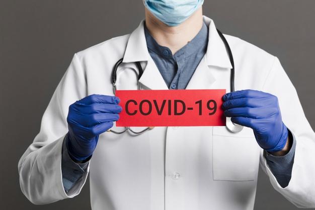 Плакат COVID-19